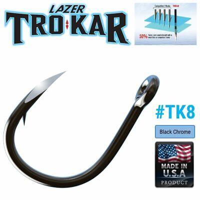 Trokar Heawy Duty Extreme Live Bait Ringed Hooks Tk8 R