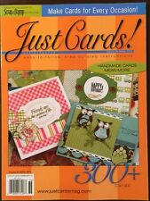 Scrap And Stamp Just Cards Homemade Cards Mean More Winter 2015 FREE SHIPPING!