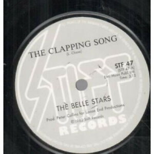 BELLE-STARS-Clapping-Song-7-034-VINYL-South-Africa-Stiff-B-W-Blame-Stf47