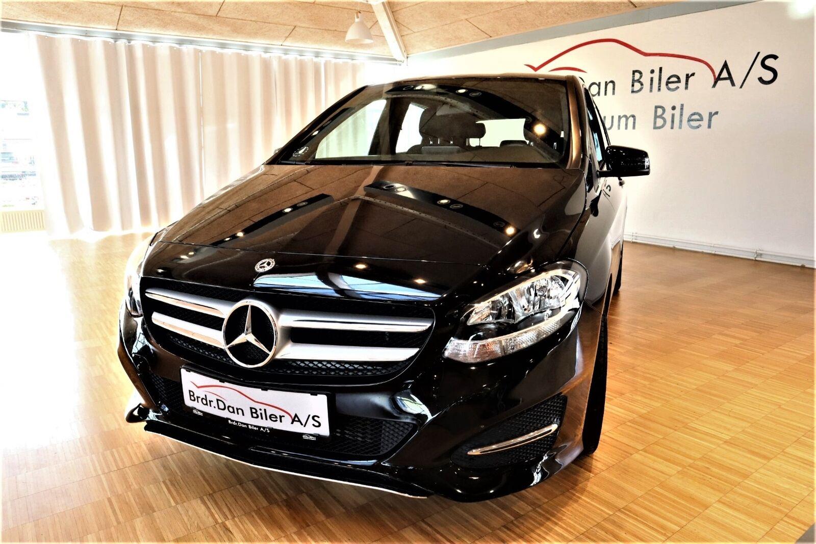Mercedes B180 d 1,5  5d - 199.800 kr.