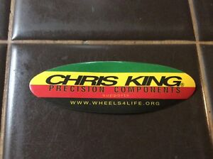 Nos Chris King   Vintage Bicycle STICKER 1990s