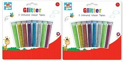 Docrafts 2 pk pots Create Christmas glitter choose gold /& silver or red /& green