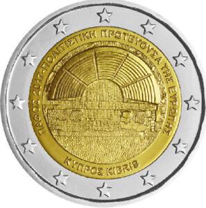 2-EURO-COMMEMORATIVA-CIPRO-2017-PAFOS-CAPITALE-EUROPEA-DELLA-CULTURA-FDC-UNC