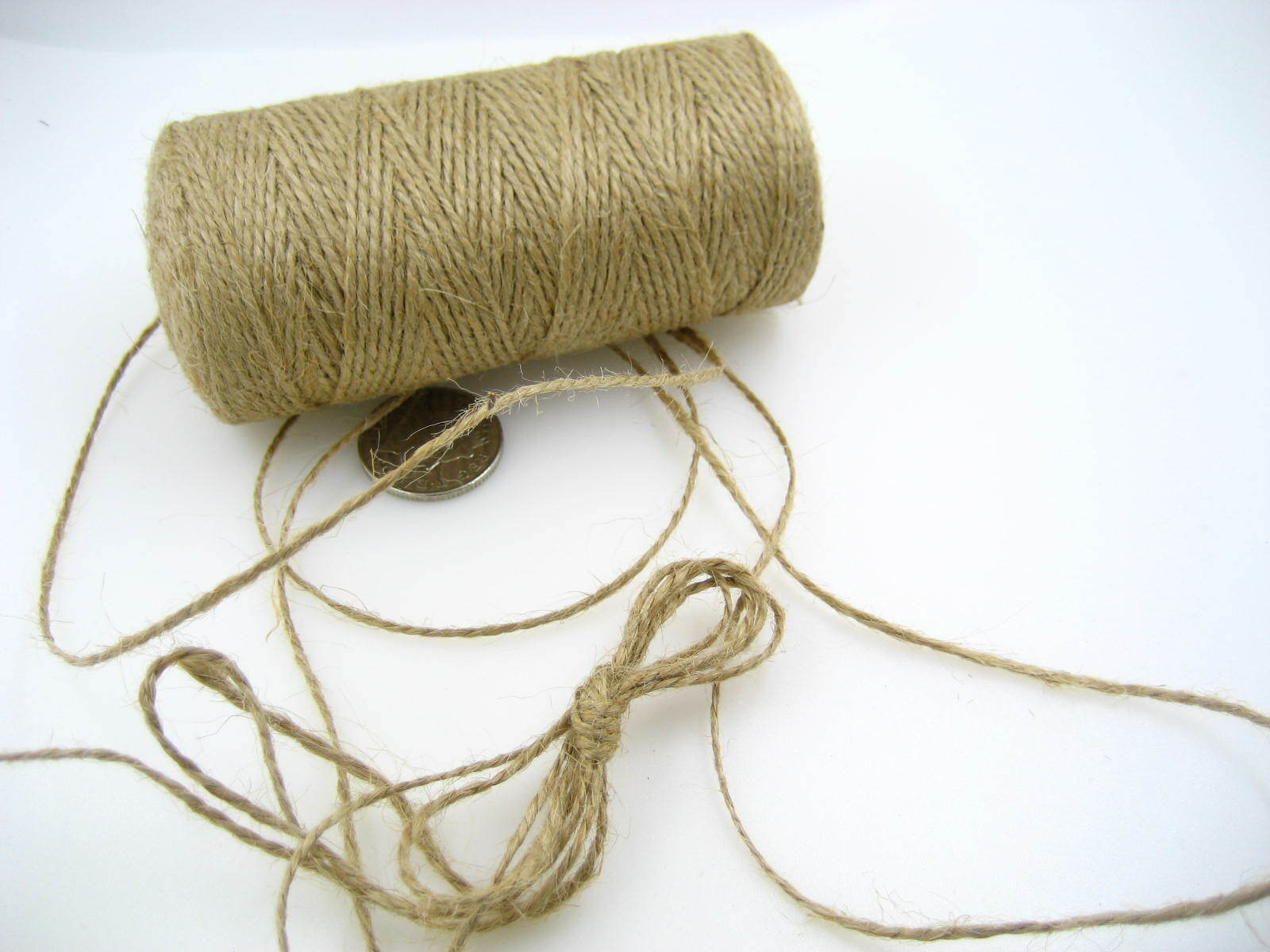 red Hang tag JUTE twine string ECO-FRIENDLY wedding Xmas gift wrapping string