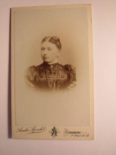 Flensburg - schönes Mädchen - junge Frau - Portrait / CDV