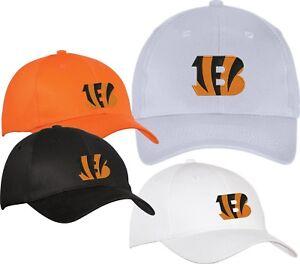 meet f23b9 ddc67 Image is loading Cincinnati-Bengals-Embroidered-Hat-Cap