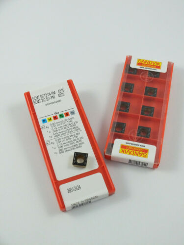 10 x insert SANDVIK SCMT09T304 grade 4315 / 10 x insert SANDVIK SCMT3251 4315