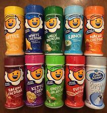 Pack of 10 Kernel Season's seasons Potato Popcorn Seasoning 10 flavor sampler