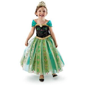 Kids-Girl-Frozen-Anna-Costum-Dress-Size-110