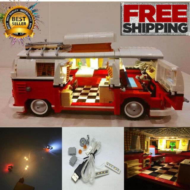 buy led light kit only for lego 10220 the volkswagen t1. Black Bedroom Furniture Sets. Home Design Ideas