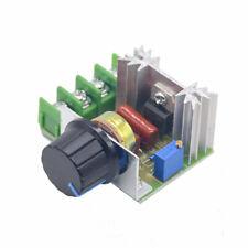 Dimmer 2000w Ac 50 220v 25a Adjustable Motor Speed Controller Voltage Regulator