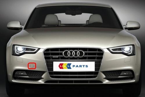 Audi A5 8 T 12-16 Nouveau Pare-chocs Avant Remorquage Crochet bouchon peint par votre code couleur
