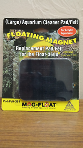 Cleaning & Maintenance Fish & Aquariums Search For Flights Mag-float Replacement Pad/felt For Magfloat 360a Acrylic Cleaner Elegant And Sturdy Package