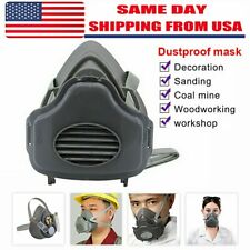 3 In 1 Safety Gas Mask Respirator Half Face Protect For Painting Spray Facepiece