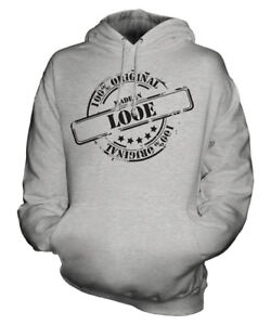 di Looe Made Natale Mens Ladies Hoodie 50 Unisex ° Womens Gift In compleanno PPFxq5gZ