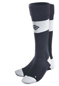466c7b80e0a8 UMBRO Best Soccer Socks Dark Navy   White Sock Choose 4-6 7-9 or 10 ...