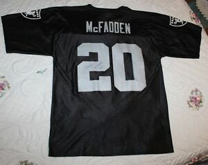 Image is loading NFL-Raiders-Football-Jersey-MENS-M-Darren-McFadden- 536b76da7
