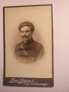 Appris Würzburg-kdstv Thuringia-ws 1903/04 - Ludwig Rüdinger/cdv Studentika-afficher Le Titre D'origine TrèS Poli