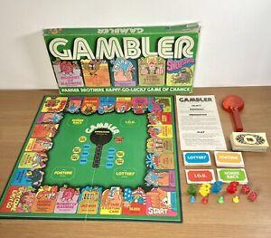 Giocatore-D-039-AZZARDO-GIOCO-DA-TAVOLO-VINTAGE-Palitoy-Parker-Brothers-1977-RARI-COMPLETO