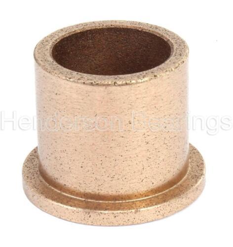 """AJ101412 llenos de aceite bronce bush con bridas SINTERIZADO-Pulgadas 5//8x7//8x3//4/"""""""