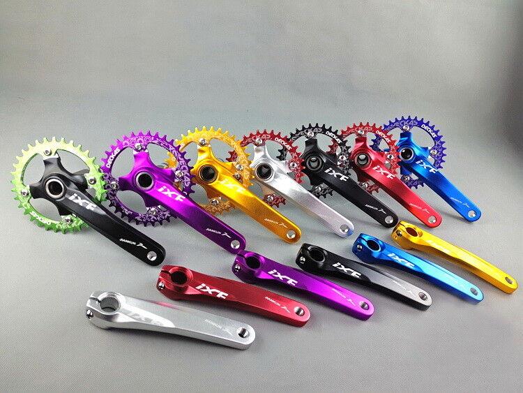 IXF MTB Bike 170mm Crank Crankset Round Oval 104bcd Chainring BB 32343638T
