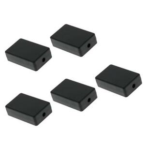 5 Pieces ABS Plastic Enclosure Small Project Box For Electronic ...