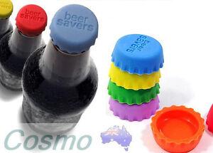 6pcs-Beer-Bottle-Silicon-Caps-Saver-Cover-Reusable-Stopper-Lid-Colour-Cool-Cute