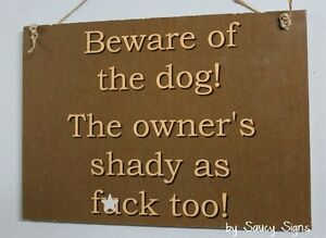 Beware-of-the-Dog-Sign-Man-Cave-Shed-Sign-Naughty-Rustic-Warning-Wooden-Pet