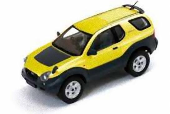 IXO Premium-X IXOPRD0421 - Isuzu Vehicross - 1997 giallo