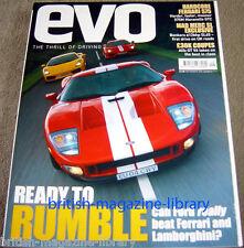 Evo Magazine Issue 71 Frd GT40 vs Lamborghini Gallardo vs Ferrari 360 CS