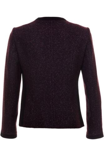 Giacca Busy donna da PlumBlack Paneled Wool Sparkle Blend Klu1JF3Tc5