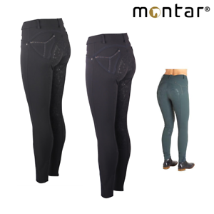 Montar Mila Ladies Full Silicone Seat Breeches SALE FREE  UK Shipping  up to 65% off