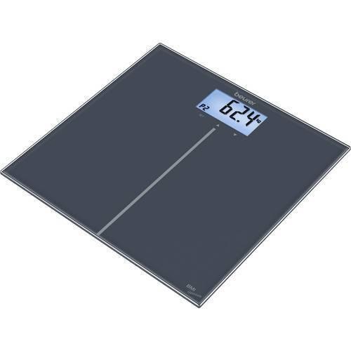 Beurer gs280 bilancia pesapersone digitale portata max180 kg schwarz