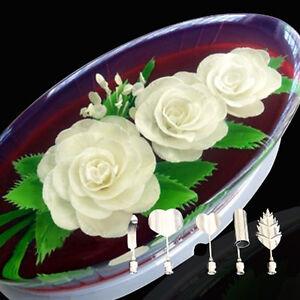 Satz Blume 3d Jello Gelee Nadel Werkzeuge Kuchen Gelatinepudding Düse Profitieren Sie Klein 5 Teil Sonstige Backzubehör & Kuchendekoration