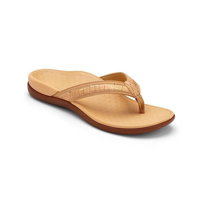 Vionic marea II oro Corcho Corcho Corcho Toe Post Mujer Tallas 5-12 NEW  disfruta ahorrando 30-50% de descuento