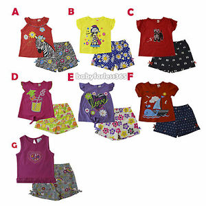 a24d66420 New Baby Girls Summer Fashion Outfits Shirt Shorts Size 3 6 9 12 18 ...