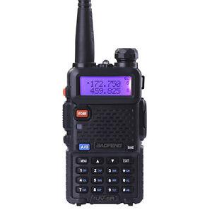 Canada-Stock-Baofeng-UV5R-Ham-Radio-128CH-5R-Dual-Band-UHF-VHF-FM-Walkie-Talkie