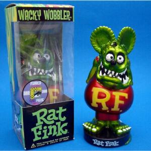 Blue Rat Fink Figure Roth Ed Biig Daddy Funko Bobblehead Wacky Wobbler Gift