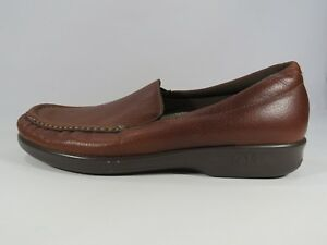 SAS-Women-039-s-TriPad-Comfort-Brown-Leather-Loafer-Slip-Ons-Shoes-Size-10-S