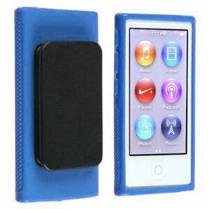Zhhlinyuan 2pcs Silicone Tpu Transparent Protective Soft Flexible Case Cover para iPod nano 7th