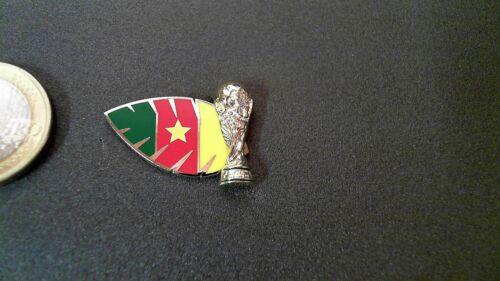 Weltmeisterschaft WM 3D Pin Pokal  Kamerun Cameroon Badge Trophy World Champ