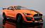 Maisto-1-18-2020-Ford-Mustang-Shelby-GT500-Diecast-Modelo-Coche-de-Carreras-Naranja-En-Caja miniatura 4