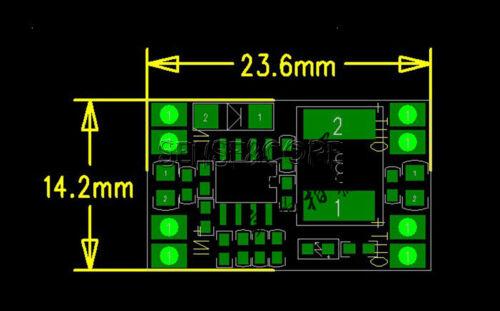 DC-DC 9V//12V//19V To 3.3V USB Step Down Buck Power Supply Module 3A For Car