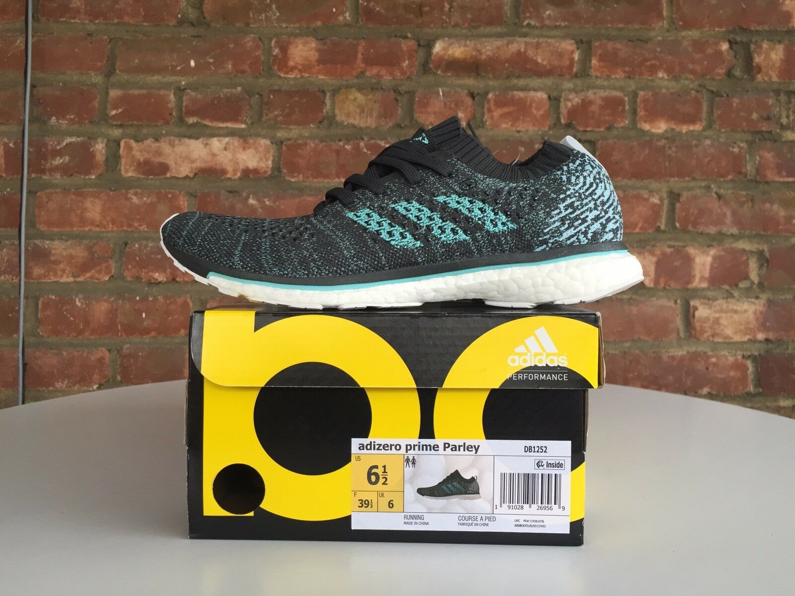 Adidas Boost Adizero Prime Parley Running Save the Oceans DB1252 ultra Boston