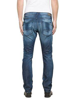 Replay Jeans Waitom Regular Slim M983 118 670 Denimzero Ship internationally