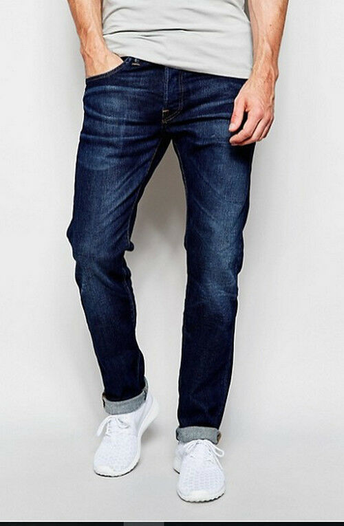 JEANS EDWIN MAN ED 55 RELAXED TAPERED (cs night-ruffle ) W33 L32 VAL