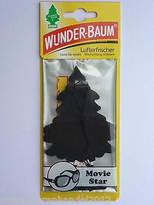 (1,85€/Einheit) 1x WUNDER-BAUM® Movie Star Lady Trees Duftbaum Air Freshener