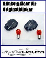 schwarze Blinker Gläser Honda CBF 500 N CBF 600 N Front smoked signal lenses