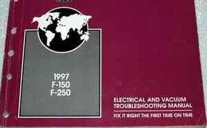 1997 Ford TRUCK F-150 F-250 F 150 F250 Wiring Electrical ...