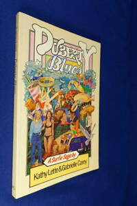 PUBERTY-BLUES-Kathy-Lette-Gabrielle-Carey-BOOK-Groovy-1979-1st-Edition